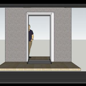 סף דלת מתקפל – נגישות נכים